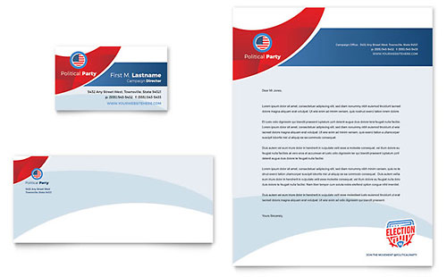 Election Brochure Template - Word  Publisher