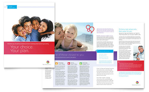 Medical  Health Care Brochures  Flyers - Word  Publisher Templates