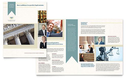 Half-Fold  Bi-Fold Brochure Templates - Word  Publisher Templates - half fold brochure template