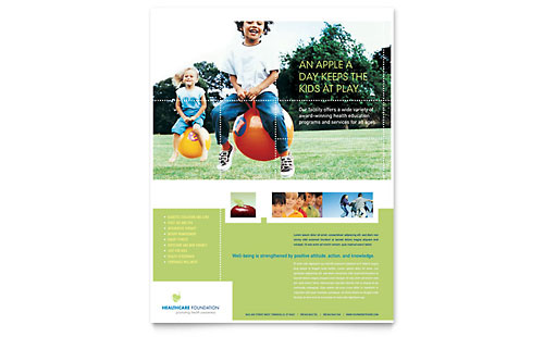 Medical Insurance - Flyer Templates - Word  Publisher - insurance flyer templates
