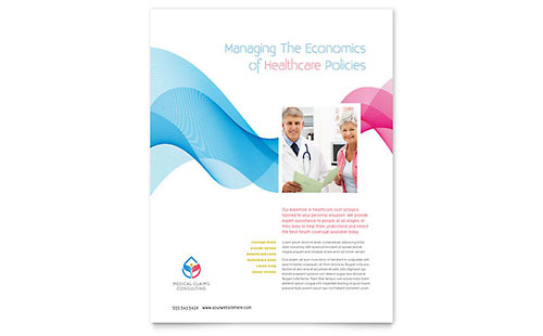 Medical  Health Care - Flyer Templates - Word  Publisher