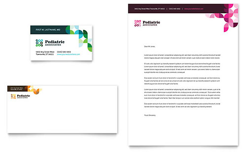 Physicians Office - Stationery Templates - Word  Publisher - doctor office website template