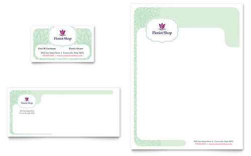 Letterhead Templates - Microsoft Word  Publisher Templates