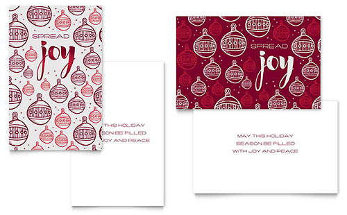 Free Greeting Card Template - Download Word  Publisher Templates