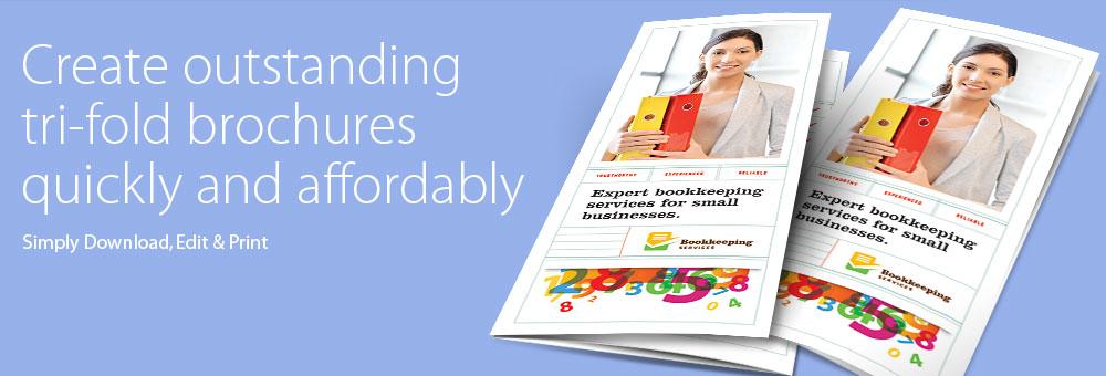 Word Tri Fold Brochure Template Download zesloka - make a trifold brochure in word