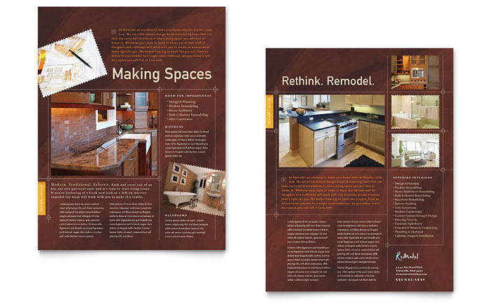 home remodeling templates