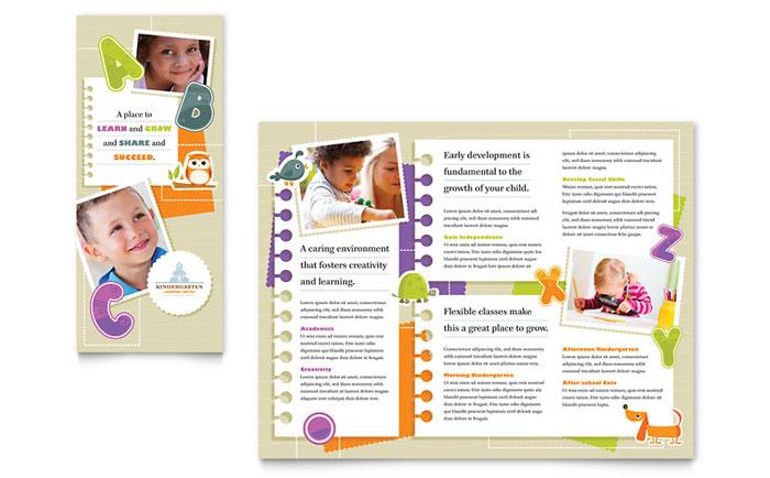Preschool  Kindergarten Templates - Word, Publisher, PowerPoint