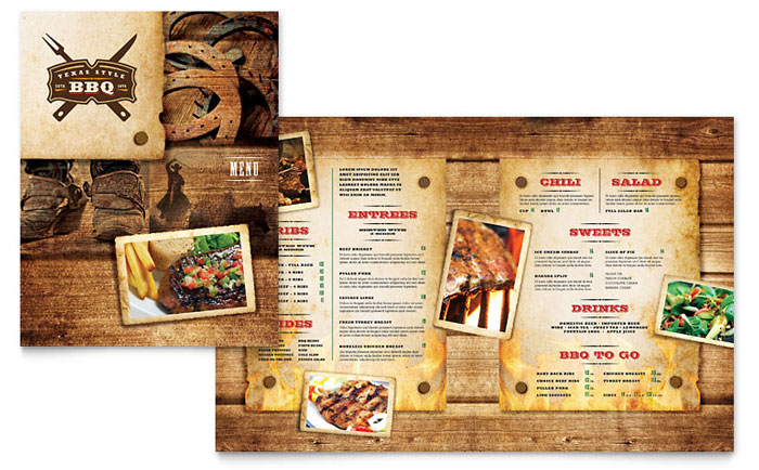 Food  Beverage - Menu Templates - Word  Publisher