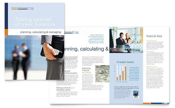 brochure design Stationary Pinterest Brochures - newsletter templates in word