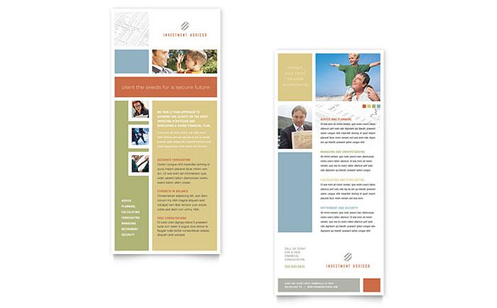 tri fold cards templates