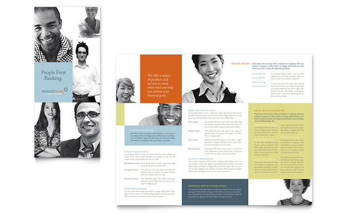 College and University Brochure Design Template by StockLayouts - template