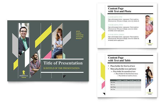 Personal Finance PowerPoint Presentation - PowerPoint Template