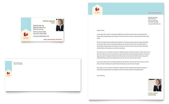 real estate letterhead templates free - Minimfagency