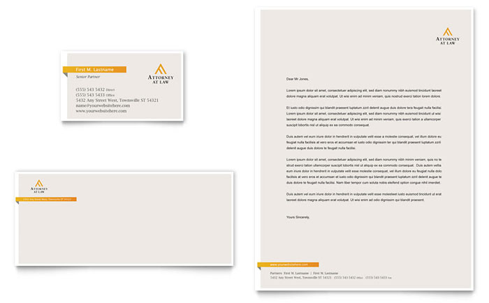 Legal Advocacy Business Card  Letterhead Template - Word  Publisher - legal template word