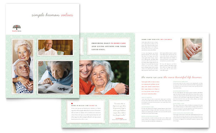 word templates brochures