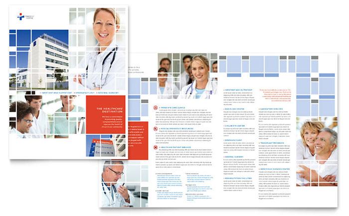 Medical Brochure Template Vector Free Download Health Brochure - healthcare brochure