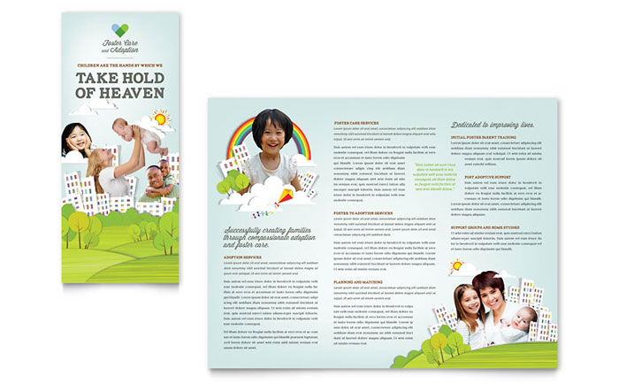 foster care brochure template free