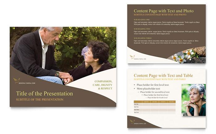 Memorial  Funeral Program PowerPoint Presentation - PowerPoint Template - memorial powerpoint templates free