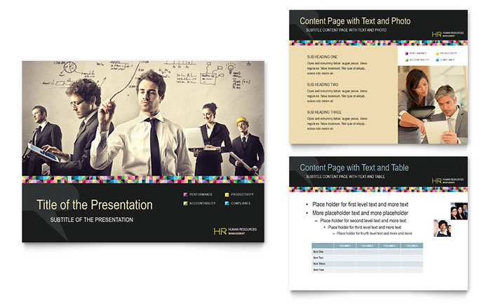 Human Resource Management PowerPoint Presentation - PowerPoint Template - consulting presentation templates