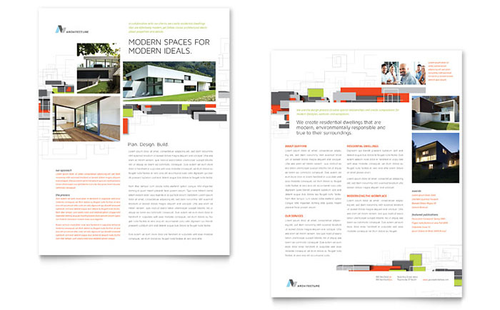 architecture design template - Project Design Template