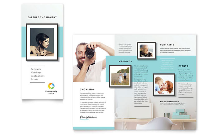 Photographer Brochure Template - Word  Publisher