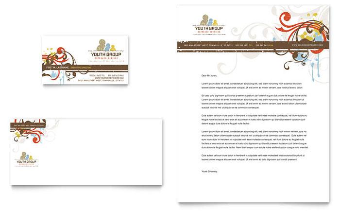 word letterhead template - company letterhead word template