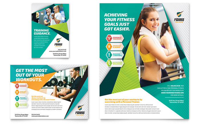 free fitness flyer template word - Honghankk