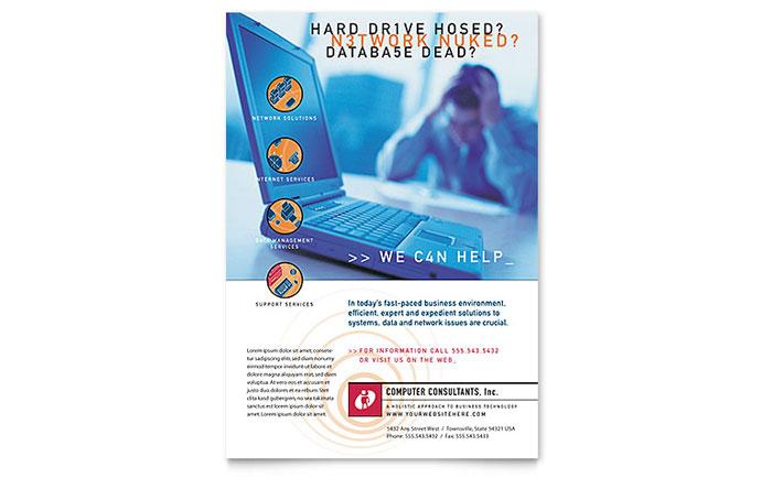 example brochure design