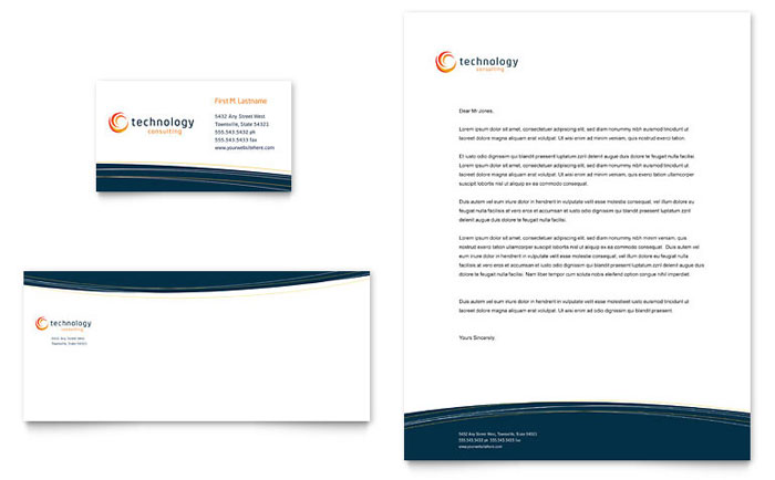 Free Letterhead Template - Download Word  Publisher Templates