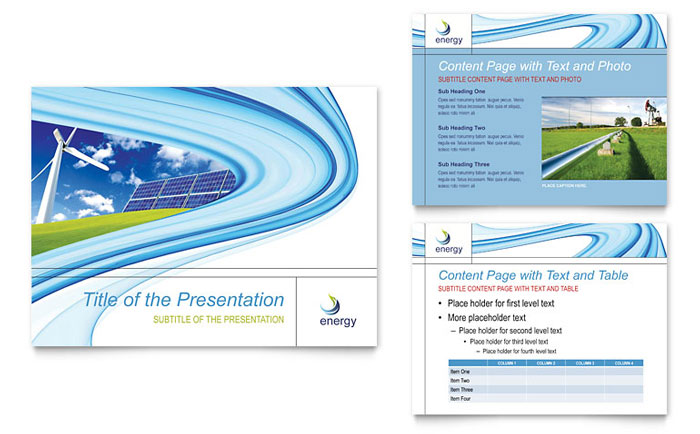 Renewable Energy Consulting PowerPoint Presentation - PowerPoint - consulting presentation templates