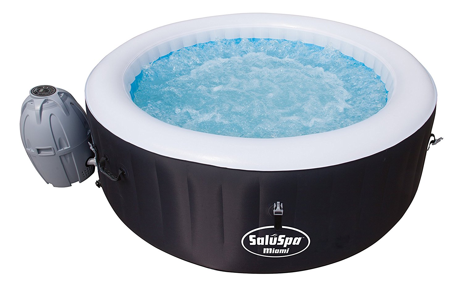 Comfortable Saluspa Miami Airjet Inflatable Hot Tub Review Laze Up ...