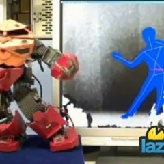 Kinect Hacked to Control a Mech
