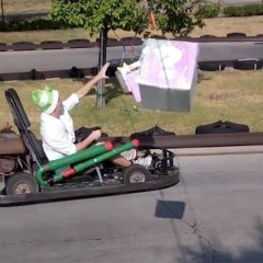 This Real Life Mario Kart is amazing