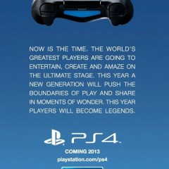 PS4 confirmed for an EU release this year (and us?)