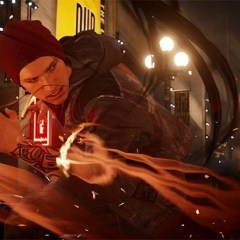 Some official, evil Infamous: Second Son gameplay