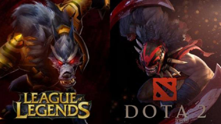 dota 2 vs league of legends heroes and champions