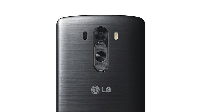 LG G3 Metallic Black Back