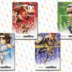 The latest Smash Bros Amiibo figures look fantastic