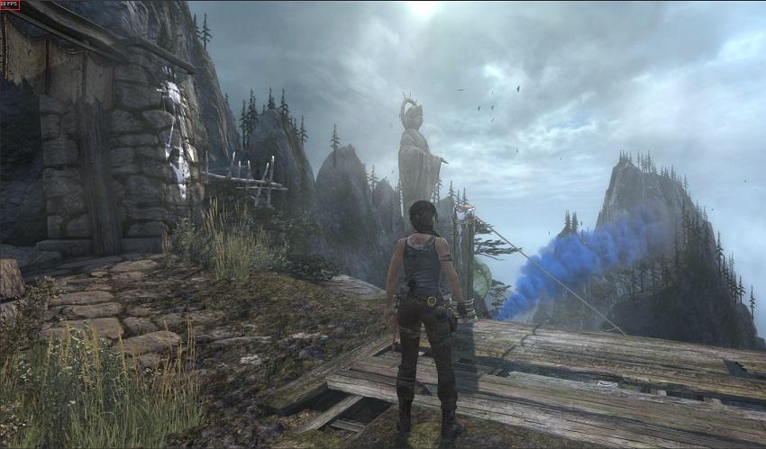 Tomb Raider Steam FPS screenshot