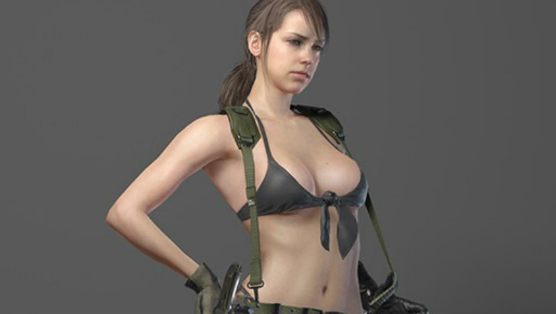 Sexy MGS quiet