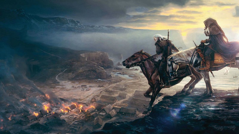 Watch 15 Minutes Of Glorious New Witcher 3 Gameplay Critical Hit