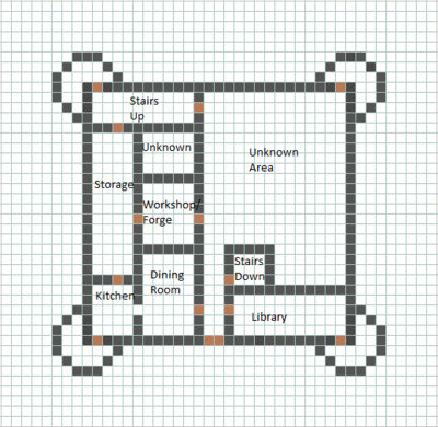Minecraft basic castle layout
