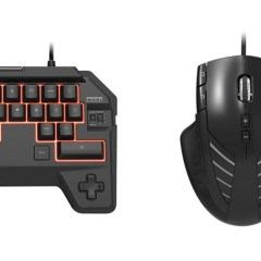 Hori's making a mouse and keyboard for the PlayStation 4
