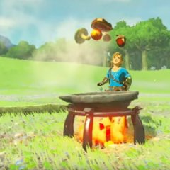 Cooking in Zelda: Breath of the Wild is a lot like Monster Hunter