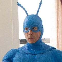 SPOON! Here's your first look at Peter Serafinowicz as The Tick