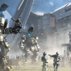 Titanfall 2 single-player footage mixes arena combat with platforming puzzles