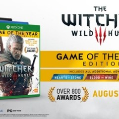 The Witcher 3 Game of the Year Edition is out now