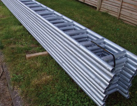 Galvanised Ladder Beam Hire And Sale London Building