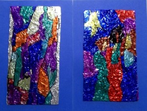 foil painting e1 and b1