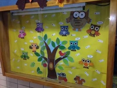 owls bulletin board 2